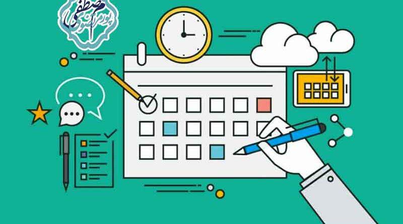 نوشتن تقویم محتوایی